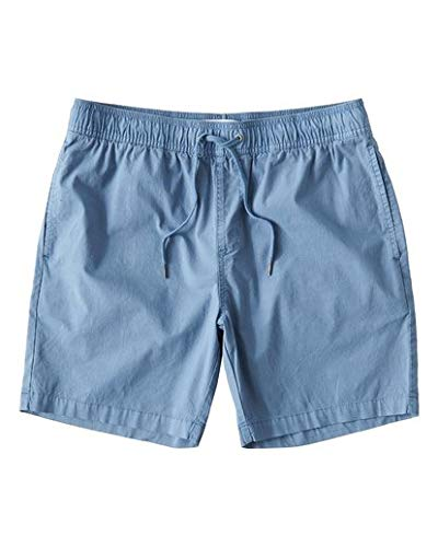 Billabong Mens Walkshorts - Billabong Men's Larry Layback Walkshorts Powder Blue Medium