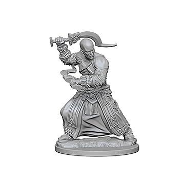 Pathfinder: Deep Cuts Unpainted Miniatures: Human Male Monk
