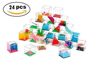 DISOK Lote DE 24 Juegos de Habilidad - Juegos de Habilidad para Niños, Adultos,