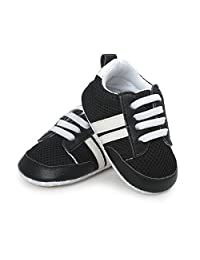 Royal Victory Baby Boys Girls Sneaker Breathable Lightweight Soft Sole Anti-Slip Infant Crib Shoes Fisrt Walkers