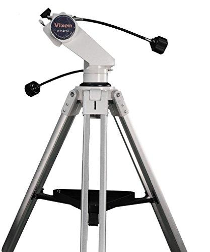Vixen Optics Porta Alt Az Mounts Porta II Mount with Tall Tripod & Long Handles, White (5863Tall+)