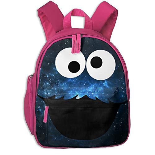 Kaddias Cookie Monster Children's Bags Pink One ()
