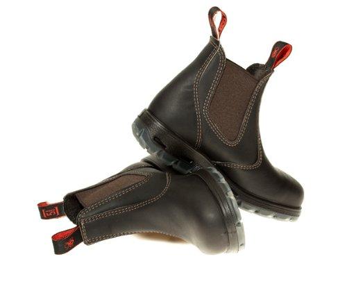 Redback USBOK Claret Brown - Calzado de protección de cuero para hombre marrón Claret Brown Marrón - Claret Brown