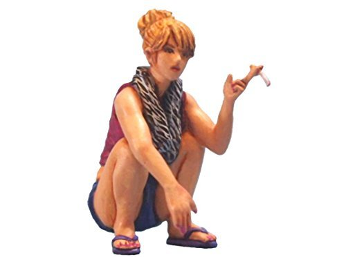 Aurora Model 1/32 figures Smoking Bad Girl Unpainted kit (Aurora Womens Figure)