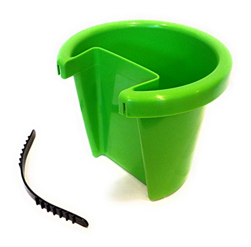 Shamrock Planter (Small Hanging Planter ATTACHES TO DOWNSPOUT! - (Approx 7