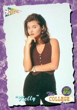 Kelly Kapowski trading card (Saved by the Bell) 1994 Pacific #92 Tiffani Amber Thiessen