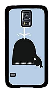 Customized Samsung Galaxy S5 Black Edge PC Phone Cases - Personalized Piano Do Cover