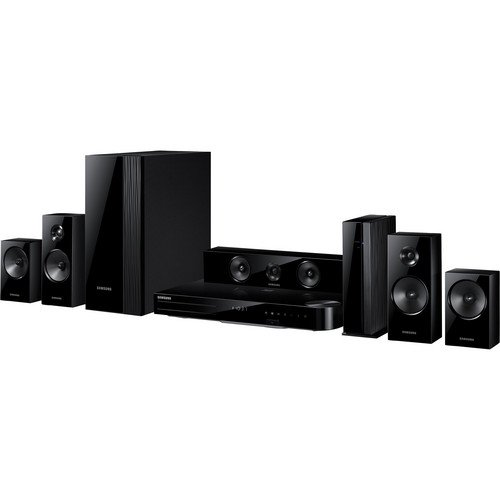 Samsung HT-H6500WM/ZA Series 1000W 5.1-Ch. 3D Smart Blu-ray Home Theater System Black