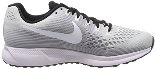 Platinum Women's 34 Tb Air White Running Pure Shoes Zoom NIKE Black W Pegasus Silver wBXPnqd