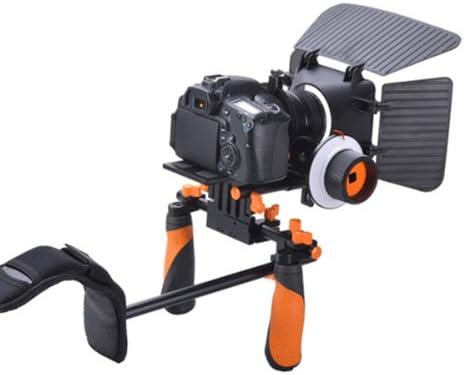 Apture-Shoulder Rig Pro DSLR-Soporte de hombro montaje mano con ...