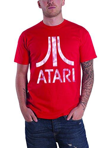 Atari T Shirt Logo Retro