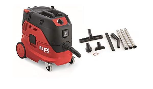 Flex VCE33LMC Alleszuiger / bouwstofzuiger - 1400W - L-klasse - 30L: Amazon.es: Bricolaje y herramientas