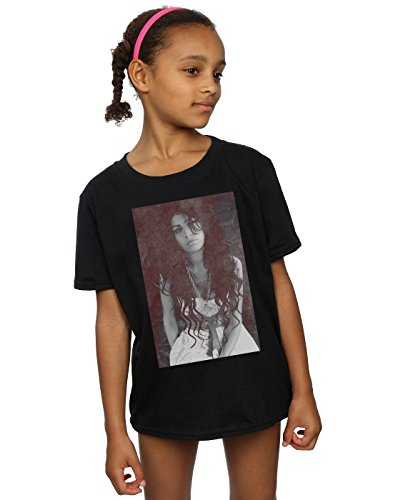 Amy Fille To Black Back Winehouse T Chalkboard Noir shirt wzUq7wvr5
