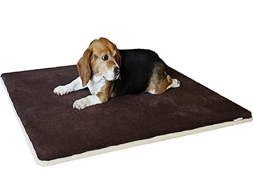 Dogbed4less Memory Foam Gel Infused Pet Dog Bed Mat Pillow Topper...