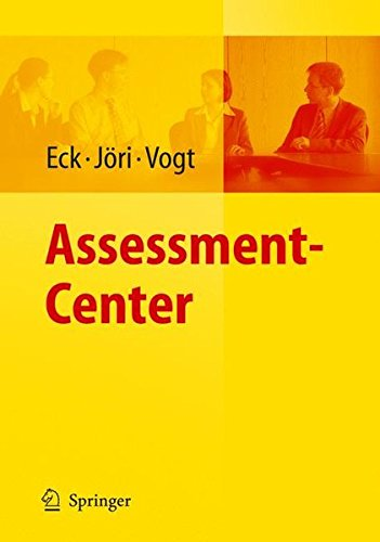 Assessment-Center (Arbeits- Und Organisationspsychologische Techniken)