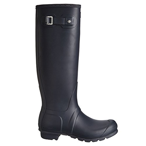 (Hunter Women's Original Tall Navy Blue Rain Boots - 9 B(M) US)