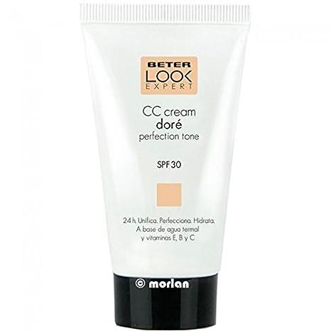 Beter Look Expert CC Cream Doré SPF30, 50ml: Amazon.es: Salud y cuidado personal