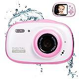 Best Digital Camera For Kids Waterproofs - Abdtech Waterproof Kids Camera Gift for 8-12 Year Review