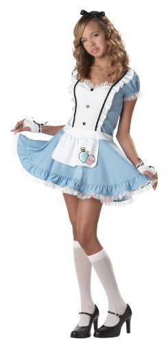 Teens Alice Costumes In Wonderland For (California Costumes Women's Alice In Wonderland)