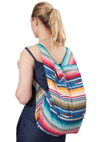 Cotton Eco Rucksack Backpack Pangden Shoulder Cloth Print OZwrxOPq45