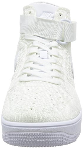 Mid White Shoe NIKE White Flyknit AF1 Ultra Basketball Men's Un1xPATqR