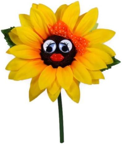 Beetle motivo fiore colore arancione girasole con fioo