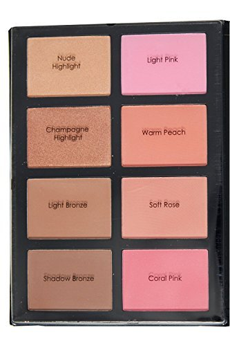 Profusion Blush & Bronzer Kit - Blush & Bronzer Palette for Flawless Contouring and Highlighting