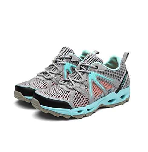 botas de Mujer bajo XIGUAFR caño gris w65qdUdz