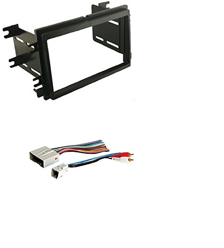Scosche Dash Kit for 2004 - Up Ford Double Iso Din Kit With American International FWH694 Combo Wire Harness Explorer Bracket