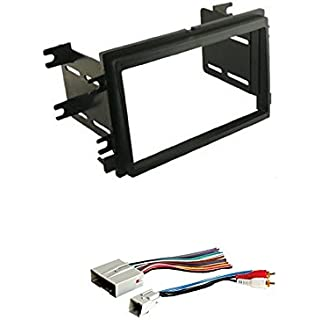 Discount Scosche Dash Kit for 2004 - up Ford Double Iso Din Kit with American International FWH694 Combo Wire Harness