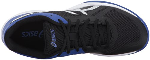 2 Shoes Silver Blue Women's ASICS Volleyball Black Asics Gel Tactic qwUnzxtX