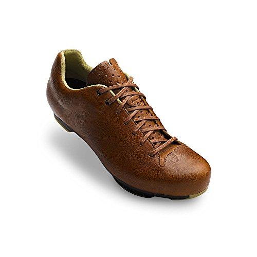 (Giro Republic Lx Road Cycling Shoes Sepia Leather/Black 48 )