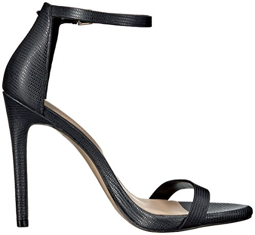 Caraa Miscellaneous Black Leather Aldo Dress Women's Sandal Rafwqz