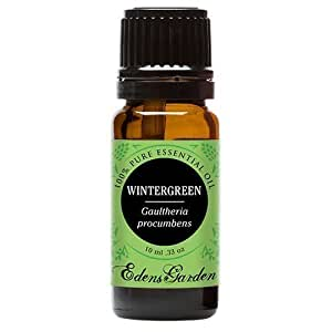 Edens Garden Wintergreen 10 ml 100% Pure Undiluted Therapeutic Grade Essential Oil GC/MS Tested