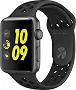 Apple Watch Nike+ 42mm Space Gray Aluminum Case Anthracite/Black Nike Sport Band