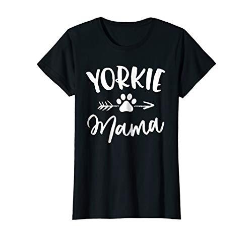 Yorkie Mama Shirt Yorkie Lover Owner Gifts Yorkie Dog Mom
