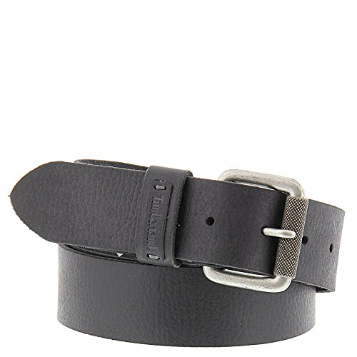 Timberland Mens Leather Milled Belt - B7300608 Black