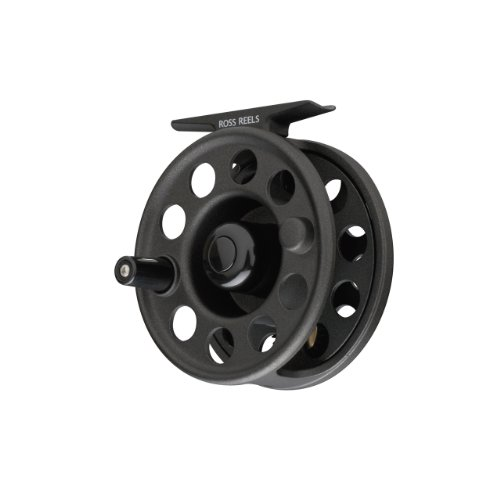 Ross Flystart No-3 Reel (Black, 5-7-Weight) (5wt Piece 3)