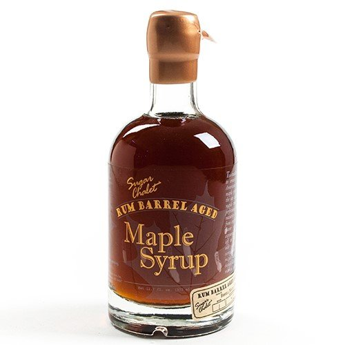 Aged Rum (Rum Barrel Aged Maple Syrup - Pure Grade A Dark (12.7 fluid ounce))