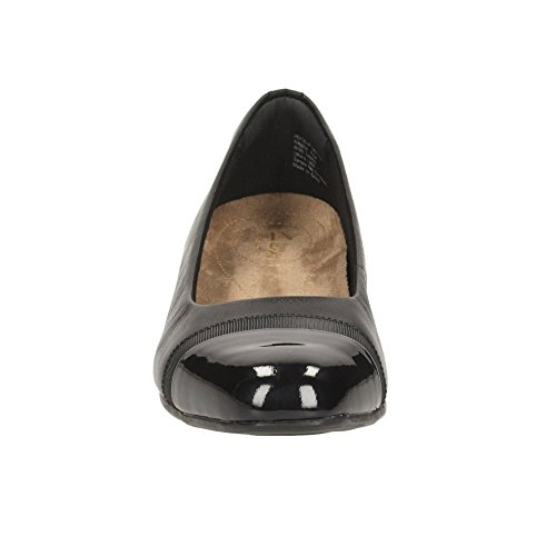 CLARKS Clarks Womens Shoe Keesha Rosa Black Leather 3.0 E
