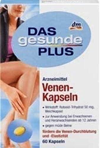DAS gesunde PLUS Venen-Kapseln, 1 x 60 St Arzneimittel