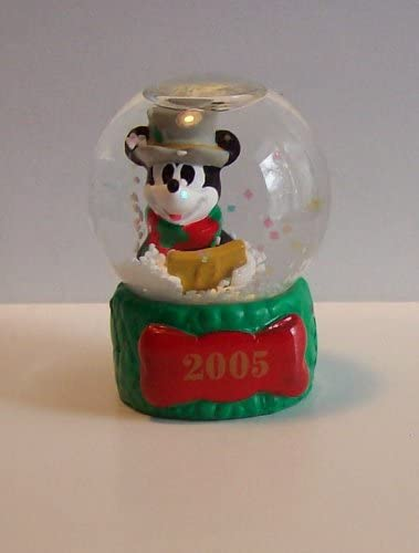Disney Mickey Mouse 2005 Christmas Snowglobe from JC Penney