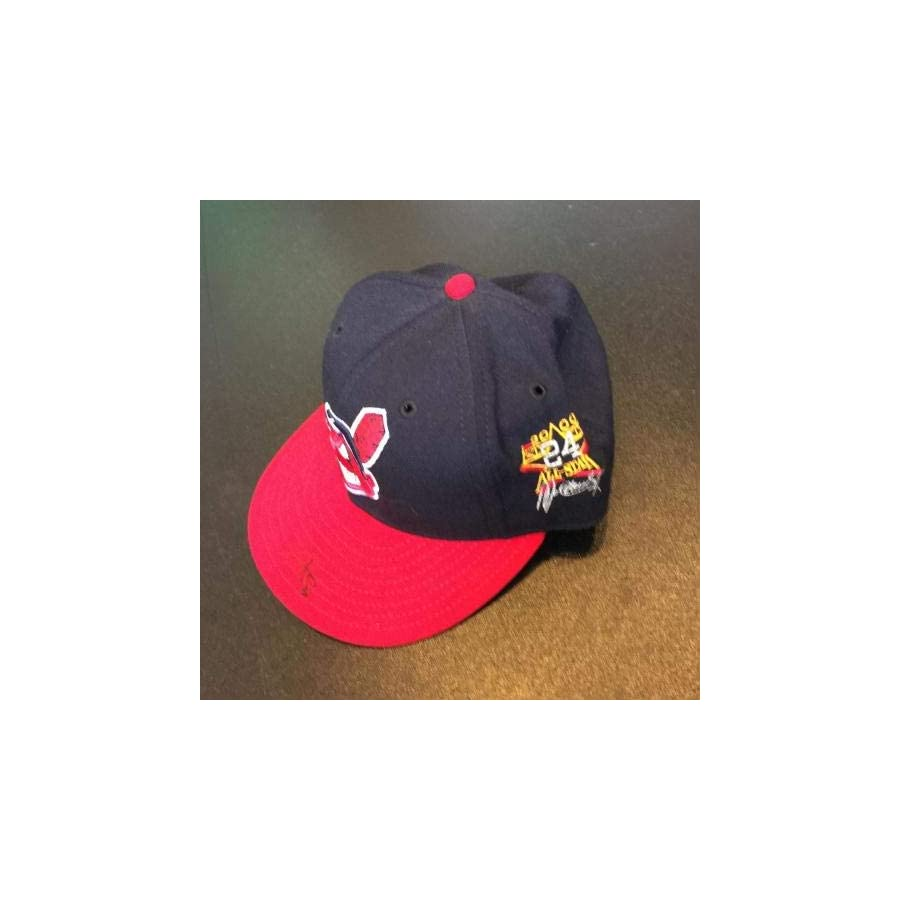 Kenny Lofton Signed Cleveland Indians 1999 All Star Game Game Model Hat JSA Certified Autographed Hats