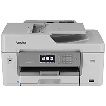 Brother MFC-J6535DW Inkjet All-in-One Color Printer with INKvestment Cartridges, Wireless, Duplex, and Mobile Printing