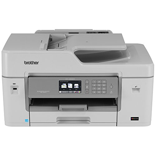 Brother MFC-J6535DW All-in-One Color Inkjet Printer, Wireless Connectivity, Automatic Duplex Printing, Amazon Dash Replenishment Enabled ()