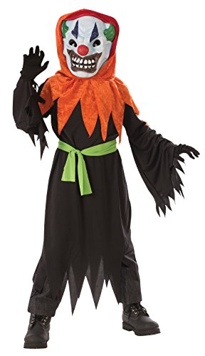 Rubie's Costume Crazy Clown Costume and Lite Up Mask, One Color, Large