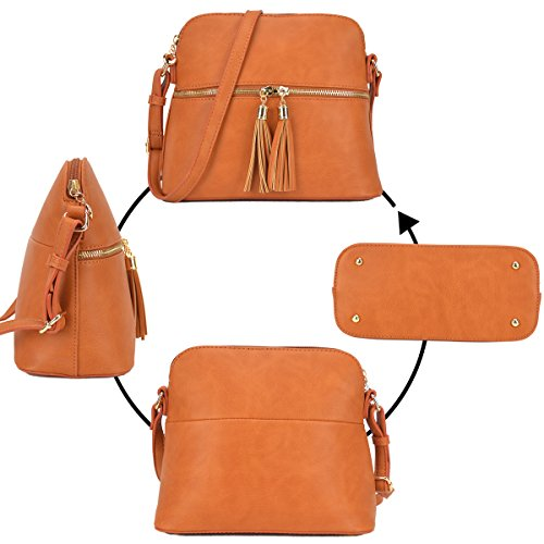 Bag Large Leather Crossbody 051 Tassel Fashion PU Medium Capacity Blue Shoulder royal Purse Ladies wXpAnqBSx