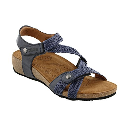 Taos Women's Trulie Wedge Sandal Navy visit cheap visit new buy cheap limited edition Ij27AJP
