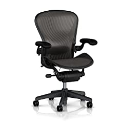 Exceeding all expectations and standards of its predecessors, the Classic Aeron Chair has become the new benchmark in the arena of ergonomic office seating. The innovative, iconic design fits you and fits into your home. Instantly adaptable t...