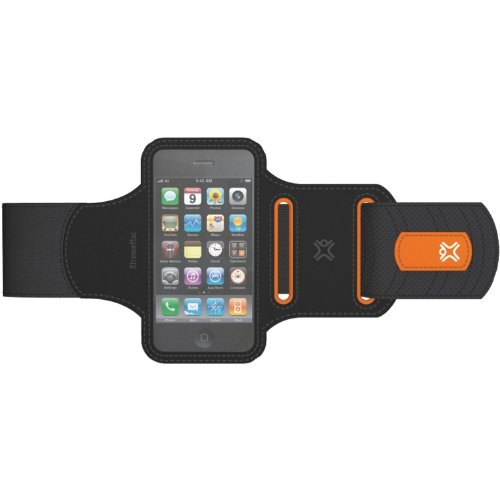 XtremeMac IPP-SWP-13 Sportwrap for iPhone 3G/3GS/4 and iPod Touch - Black